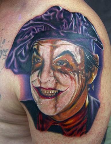 jokerjackn[1] 386x500 Awesome 80s Tattoos Television Tattoos Sexy Art